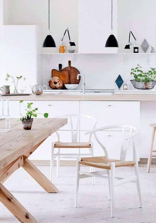 Tavolo Cucina Arredamento.Come Arredare La Cucina In Stile Nordico Casa Dolce Casa