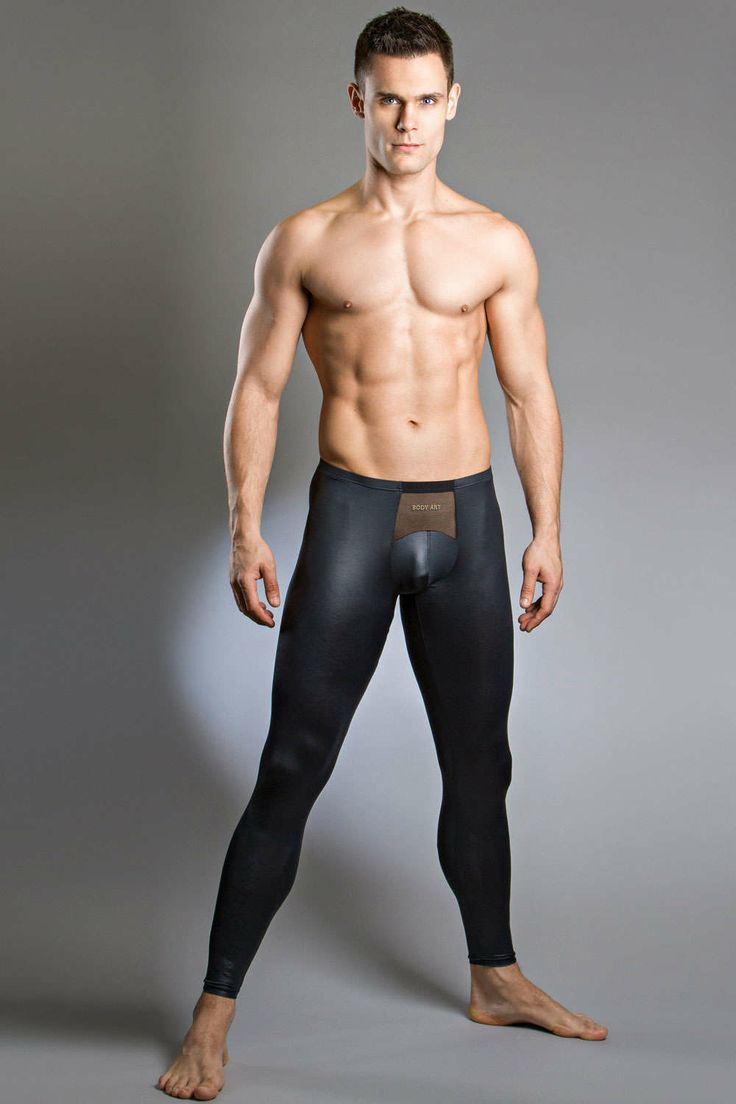 Full length designer long johns for men made from a sexy wet full length designer long johns for men made from a sexy wet look material and with a mesh panel just above the crotch body art fastos legging sciox Images