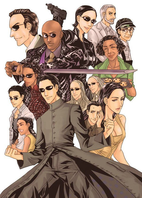 the characters in the matrix essay Every christmas eve, my family watches love actually objectively it's not a particularly, er, good movie, but it's well-suited for a holiday tradition (vox has.