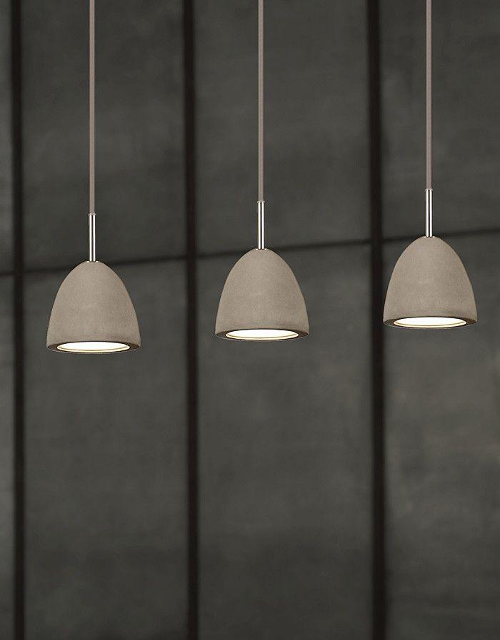 Viore Design Concrete Pendant (Single Pendant only) & Reviews | Temple & Webster