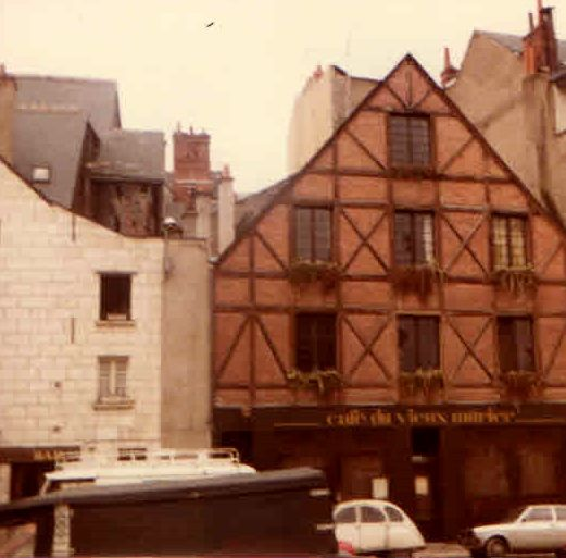 Another Photograph Taken By Me In 1979 Of Tours France The Loire
