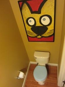 The Blue Toilet Seat