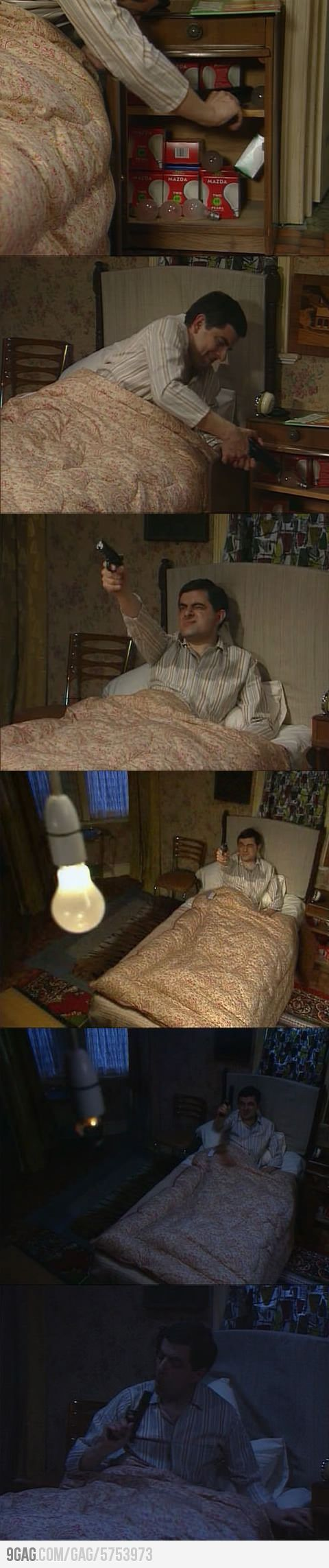 Turn off the light like a boss