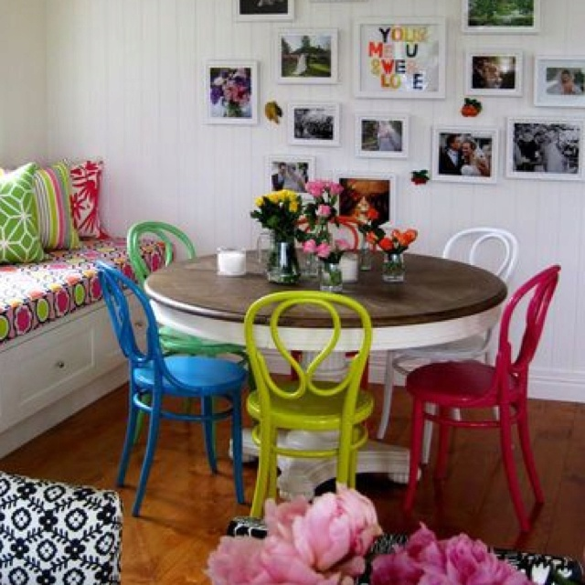 Painted Family Kitchen With Dining Nook: 20 Best Dining Cum Study Area Images On Pinterest