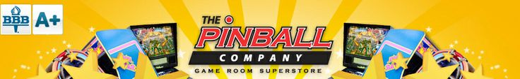 Buy arcade games and pinball machines for sale online at ThePinballCompany.com - Home