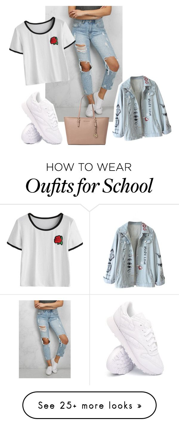 """""""#59"""" by ekylia on Polyvore featuring Rare London, Michael Kors and Reebok"""