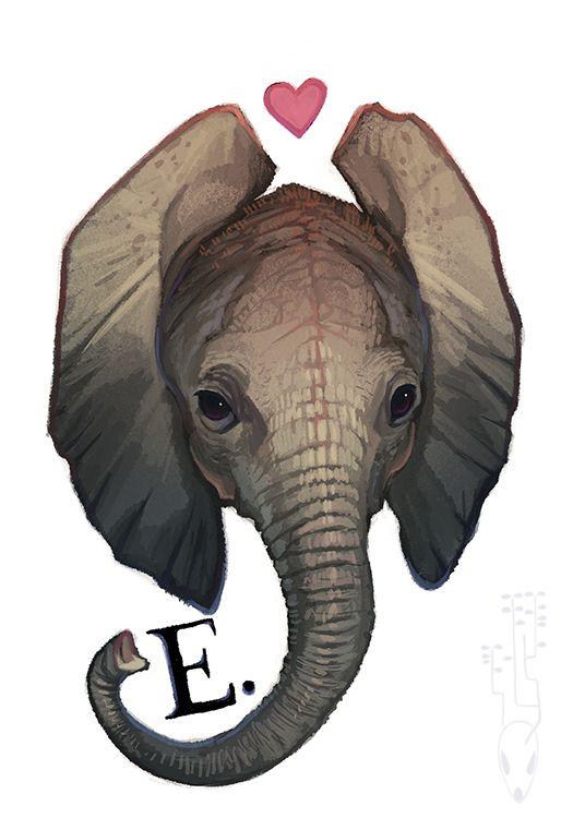 E is for by CoyoteMange.deviantart.com on @deviantART