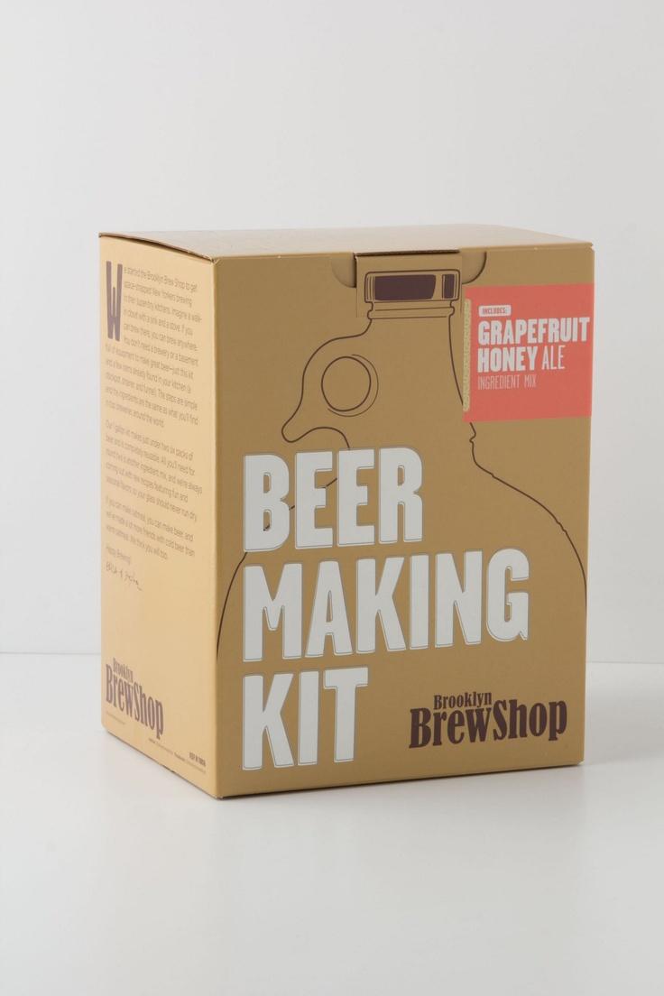Brooklyn Brew Shop Grapefruit Honey Ale Home Brewing Kit $40 #christmas #wishlist #giftguide