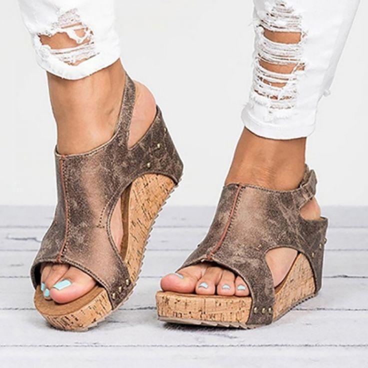 Earth Spirit Womens Fairmont Shoes Sandals - Blue Sports