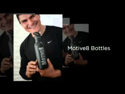 Motive8 Bottles - Whatever Your Passion!  #motivation, #fitness, #health