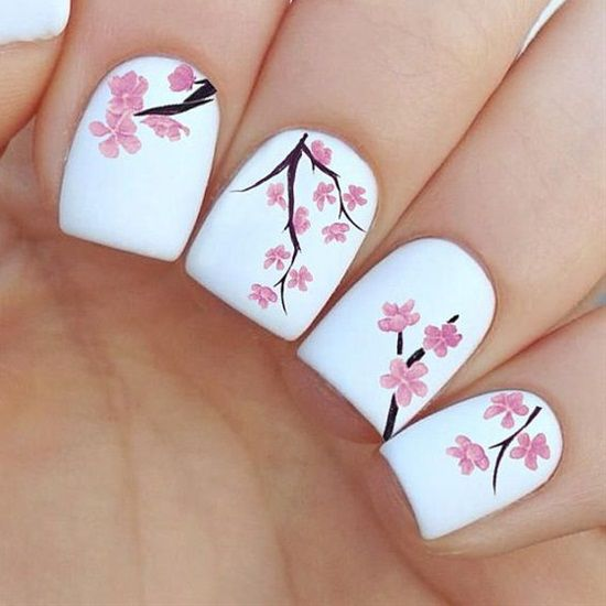 Every year, new nail designs are created and brought to light, but when we see one of these new manicure designs on other girls' hands, we feel like our nail polish is dull and outdated. So you should stay updated with latest nail art designs, and try different designs at least once to see if it fits you or not. Here are 20 adorable nail art designs, I advise you to try them this year.
