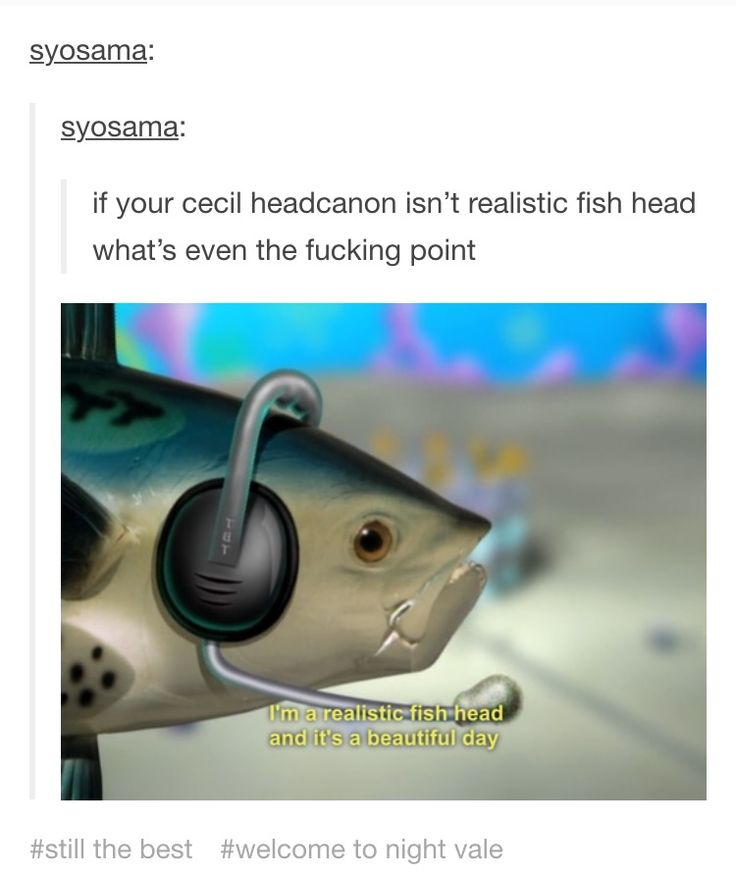 Welcome to Night Vale Tumblr post Cecil Palmer headcanon... What?
