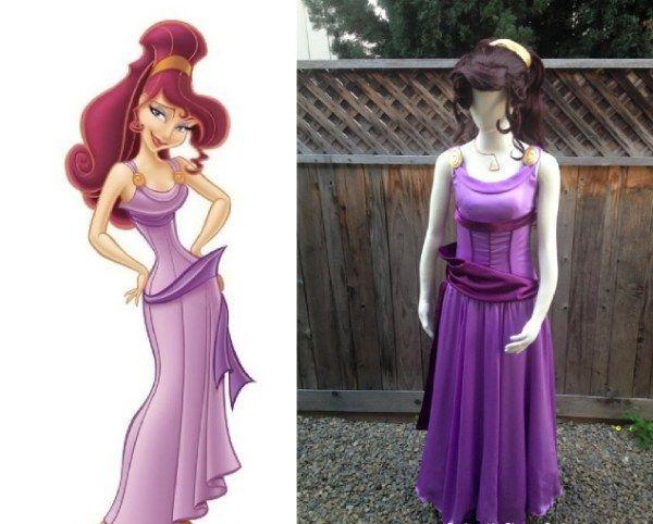 """Megara de """"Hércules""""   Community Post: 16 disfraces de Disney ridículamente buenos que de hecho puedes comprar"""