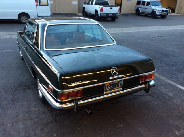 1973 Mercedes Benz 280C Coupe W114 Original Classic Barn Find For Sale Photos