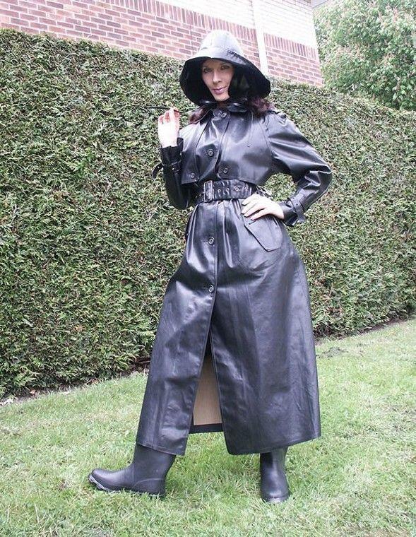black rubber raincoat raincoat pinterest. Black Bedroom Furniture Sets. Home Design Ideas