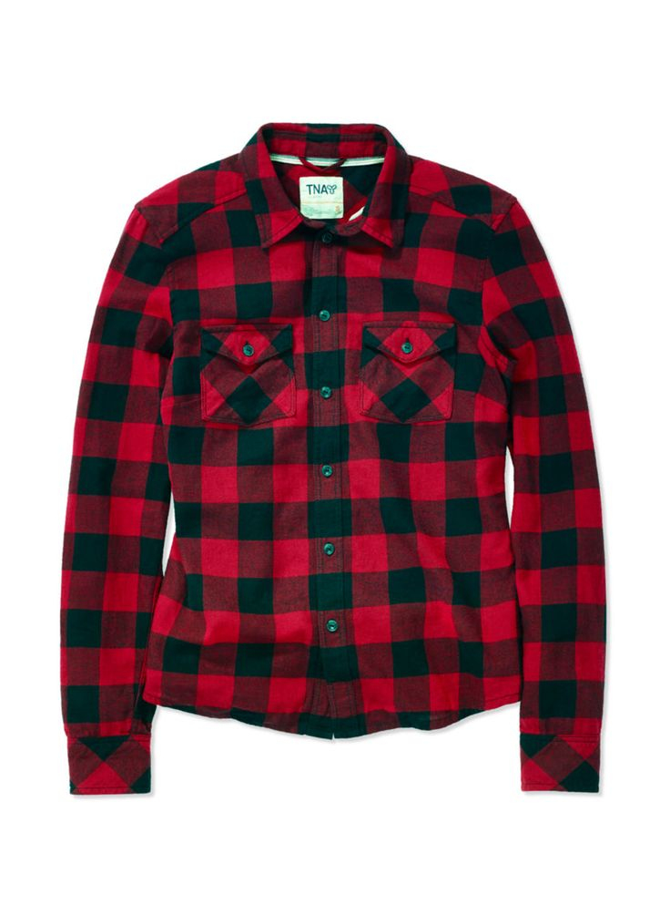 WHAT: Red flannel shirt WHERE: Aritizia WHY: A fall (or any season) staple. Pair it with a basic t-shirt or camisole underneath, with skinny jeans and brown boots.