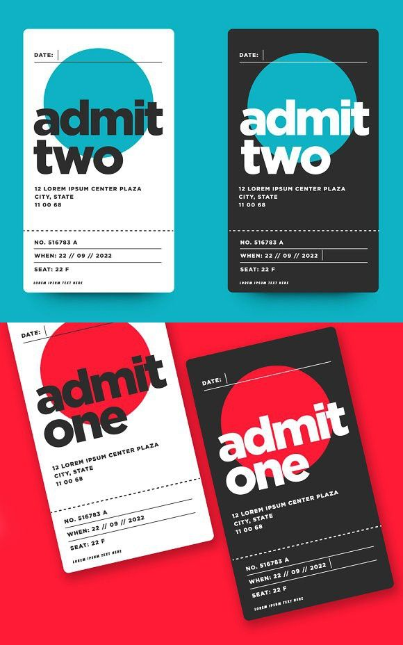 Best 25+ Event ticket template ideas on Pinterest Event tickets - event ticket template free