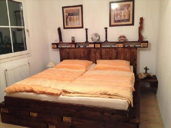 If you are tired with vintage and heavy bedroom accessories then there may be no need to worry for this, we have a few new suggestions for you like DIY recycled pallet Bed Concepts. DIY is a completely popular in the one's days and very beneficial component on your reduce time.