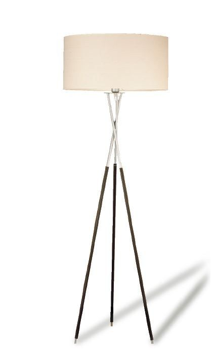 Luminária de pé de tecido TRÍPODE by luxcambra