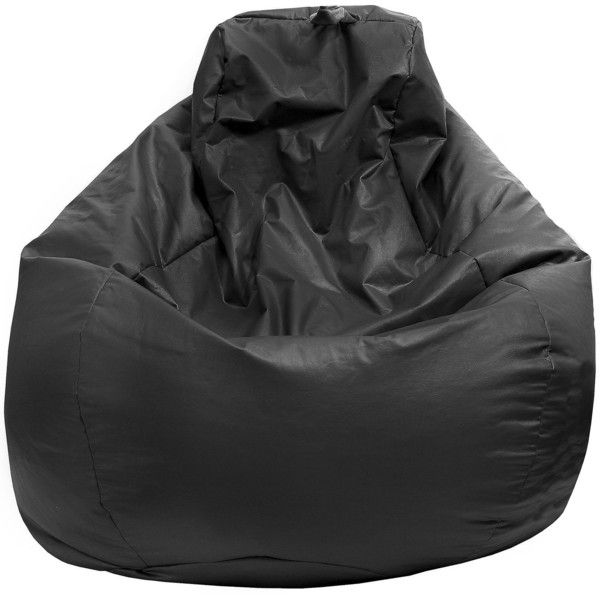 Set A Mellow Vibe With This Cool Teardrop Faux Leather Bean Bag Chair
