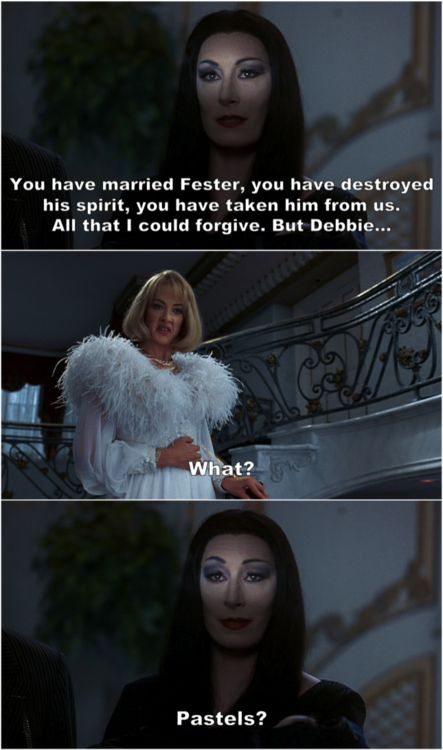 Addams Family Values  this movie still cracks me up!