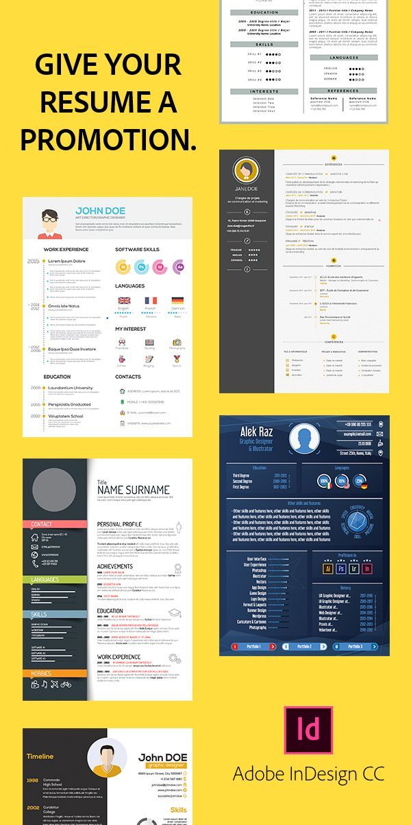 Create a resume that stands out from the crowd It\u0027s easy with Adobe