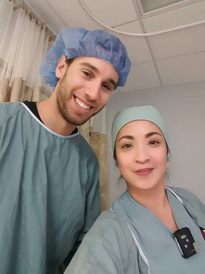 Cam Talbot....day his Twins were delivered...