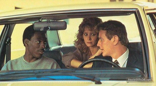 """""""Beverly Hills Cop"""" - Eddie Murphy, Judge Reinhold & Lisa Eilbacher"""