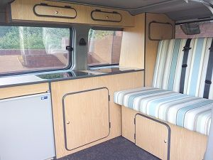 Convert Your Van Ltd - Mazda Bongo Camper Conversions