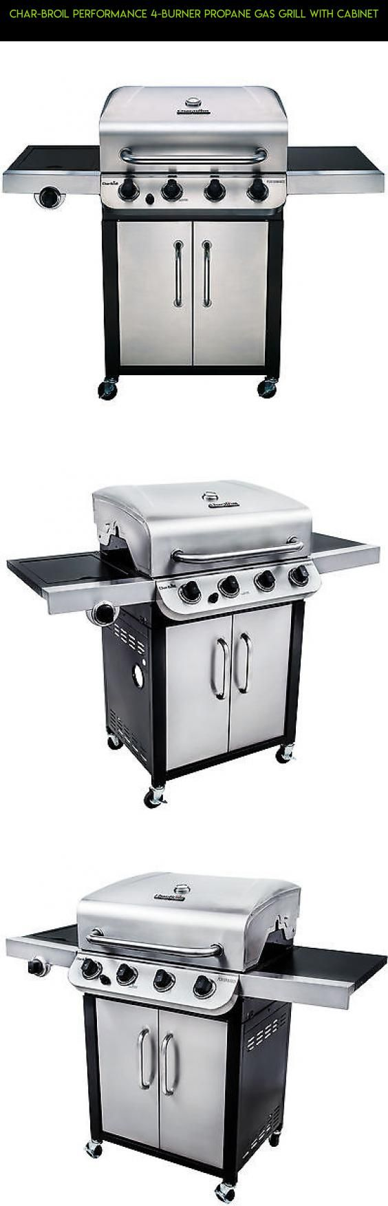charbroil performance 4burner propane gas grill with cabinet plans technology - Char Broil Gas Grill Parts