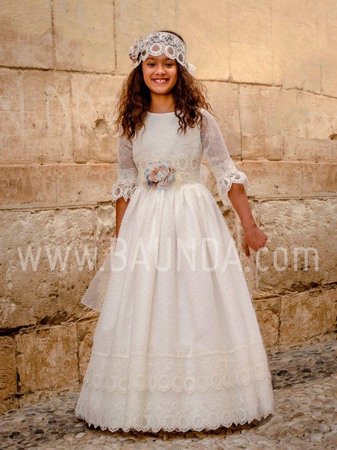 11a7215edf ♥ BAUNDA la tienda de vestidos de Comunión en Madrid ♥