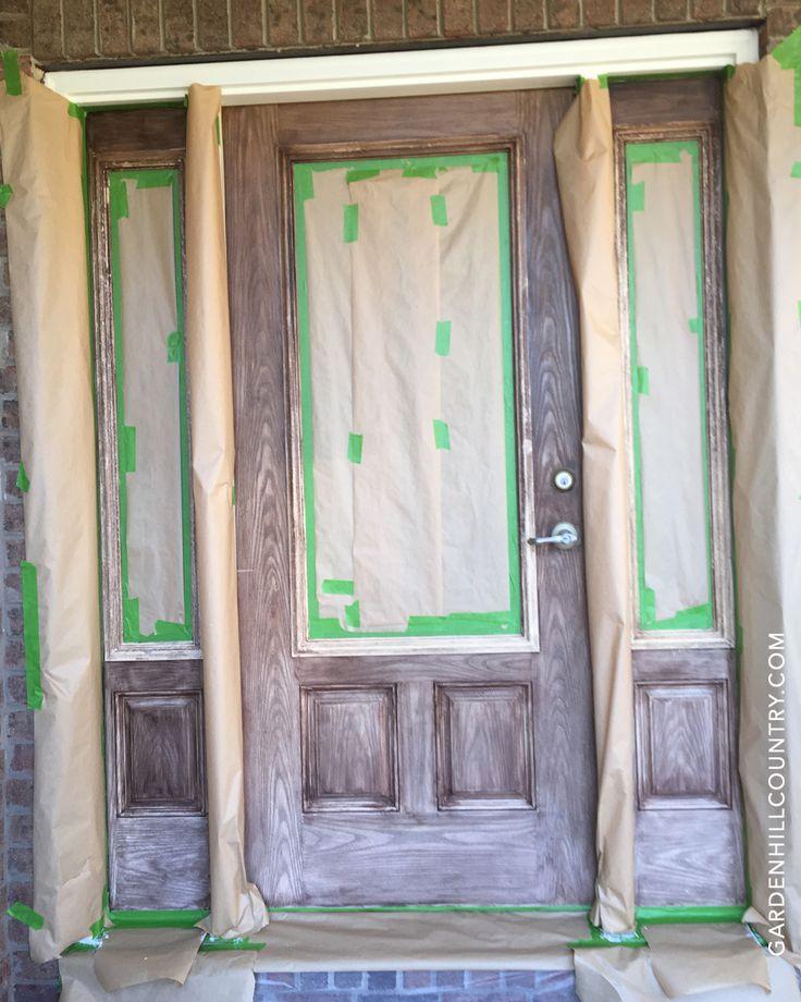 12 Tips for Gel Staining Fiberglass Doors: Preparation ...