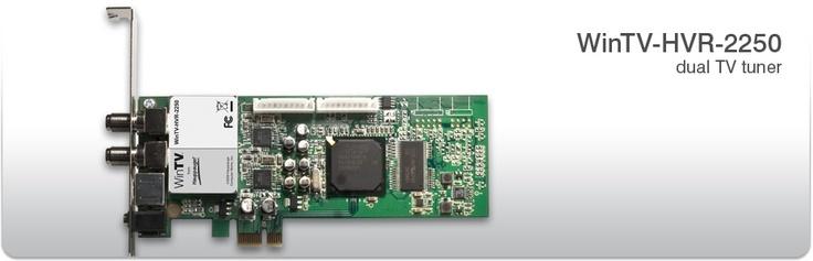 WinTV-HVR-2250 dual tv tuner card for the media center. $118