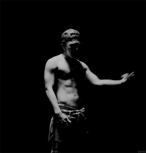 Taeyang #doesheeverwearashirt