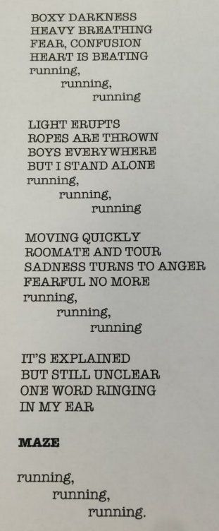 Henry MS Library @hmsREADS @jamesdashner Check out this awesome #MazeRunner poem one of my 8th graders wrote!
