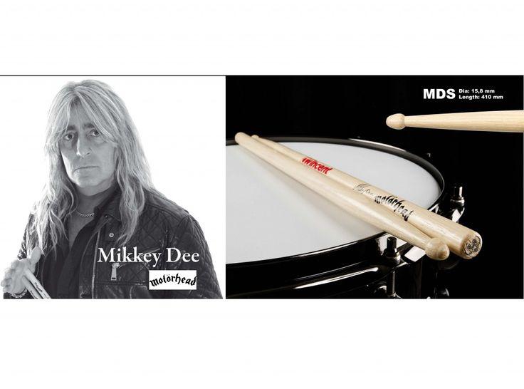 W-DES Mikkey Dee Drumsticks. www.drumperium.com