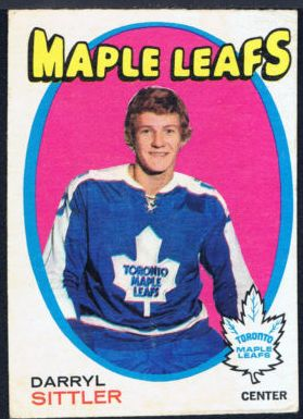 Darryl Sittler hockey card