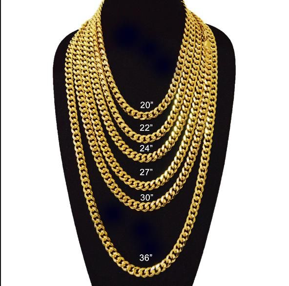 Heavy Duty Chain Necklace Get It To Create A Very Rich Look Gold Chains For Men Cuban Link Chain Necklaces Chains For Men