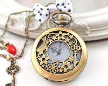 Horloge ketting Alice in Wonderland konijn lolita