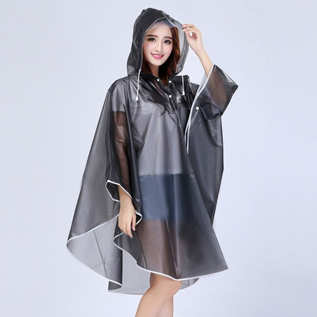Hot Sale Raincoat Poncho Plastic Jacket Rain Cape Waterproof Poncho Rain Single Person Rainwear Coat Capa de Chuva