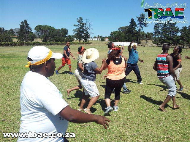 NGK Ceramics Hitting the Target Team Building Stellenbosch