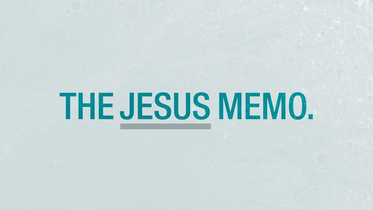 Skit Guys - The Jesus Memo. This literally brought tears to my eyes. Just absolutely awesome.