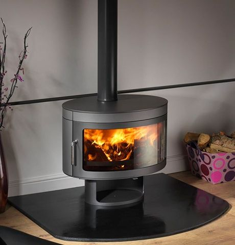 Best 25 contemporary wood burning stoves ideas on for Modern wood fireplace