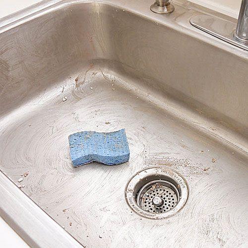Πώς να καθαρίσω τον νεροχύτη