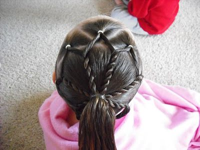 Astounding 1000 Images About Easy Gymnastics Hair For Competition On Short Hairstyles Gunalazisus