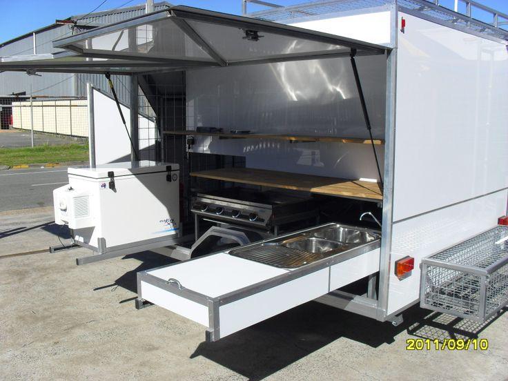 Outdoor Catering trailer