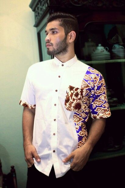 Mavazi menswear - Batik pattern ( modified ) in simplicity & urban concept