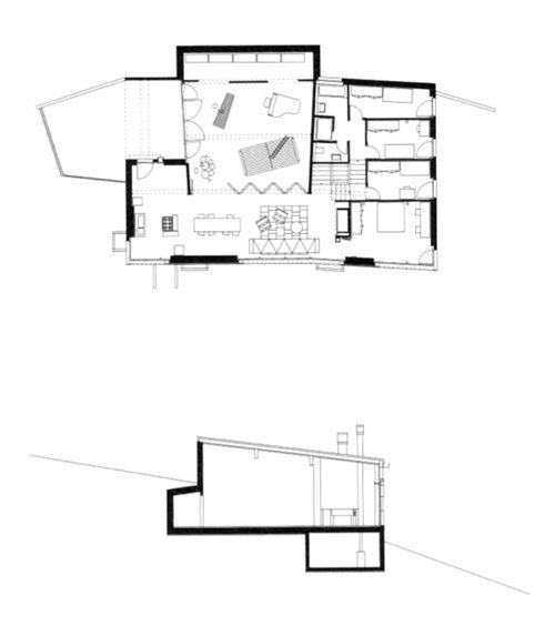 Peter Märkli - Atelierhaus Weissacher, Rumisberg