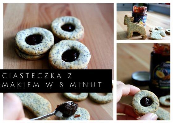Ciasteczka z makiem w 8 minut