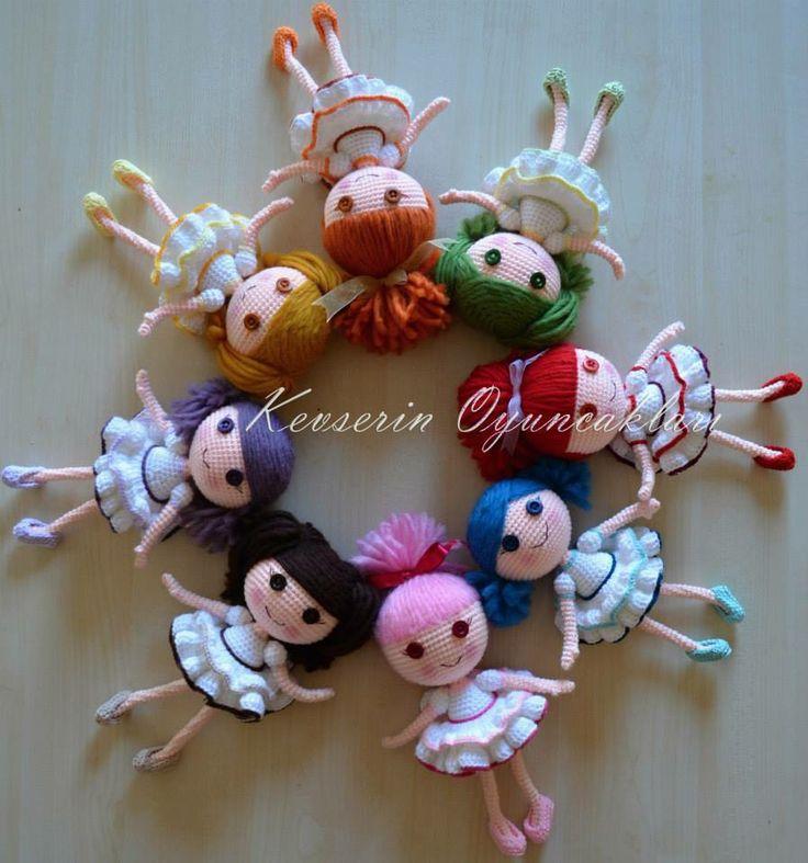 Little Amigurumi dolls!